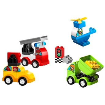 レゴ はじめてのデュプロ いろいろのりものボックス おもちゃ おもちゃ・遊具・三輪車 ブロック・パズル・おえかき (60)