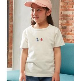 Lee ミニロゴTシャツ キッズ ホワイト
