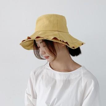 帽子 レディース 夏 uv 折りたたみ UVカット帽子 100% 大きいサイズ 頭 大きい 大きめ ツバ広 紫外線対策 日焼け防止 麻綿混 つば広ハット 女性用 日よけ帽子 レディース帽子 春夏 お