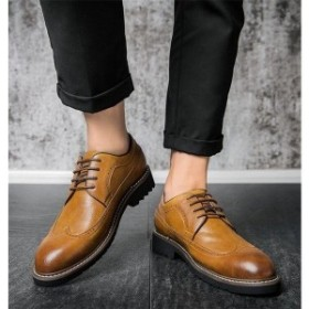 ビジネスシューズメンズシークレットシューズ面接就職活動通勤紳士靴結婚式PU革靴歩きやすいメンズシューズフォーマル