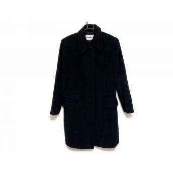【中古】 フラジール FRAGILE コート サイズ40 M レディース 黒 冬物