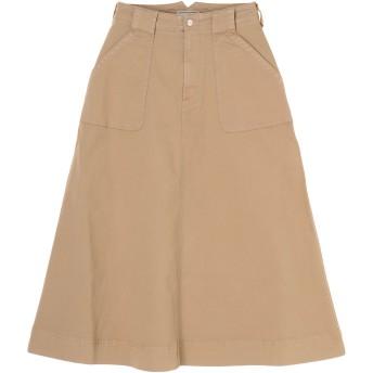 Moname Moname(モナーム)フレンチワークスカート /41191241 その他 スカート,ベージュ