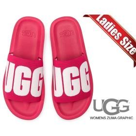 アグ ウィメンズ ズ−マ グラフィック サンダル UGG WOMENS ZUMA GRAPHIC SWEET SANGRIA 1099833 W SSNG スウィート サンガリア サンダル レディース スライド
