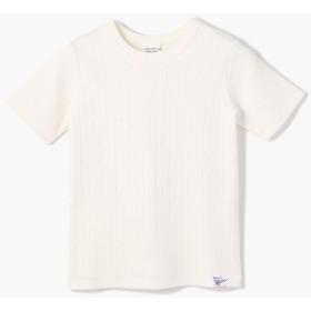 トゥモローランド コットンリブ クルーネックTシャツ レディース 11ホワイト 135 【TOMORROWLAND】