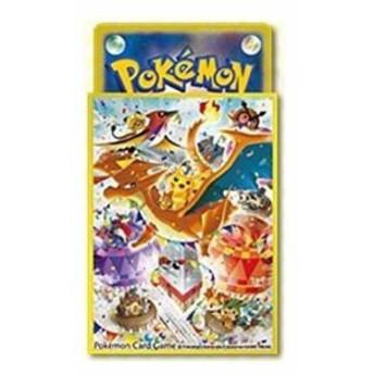 ポケモンカードゲーム 32枚入り デッキシールド ポケモンセンターメガトウキョーOP