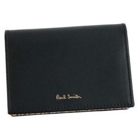ポールスミス PAUL SMITH CREDIT CARD CASE (BLACK)