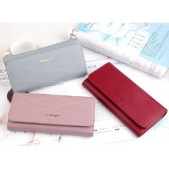 新しい女性の財布ロングストーンジッパーバッグ明るい革の潮シンプルなクラッチバッグ母の日ギフト/女性/財布/人気