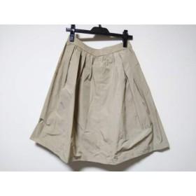 【中古】 マッキントッシュフィロソフィー スカート サイズ36 M レディース ライトカーキ