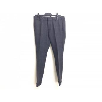 【中古】 ディースクエアード DSQUARED2 パンツ サイズ42 M レディース ダークグレー