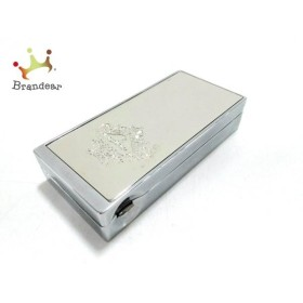 オロビアンコ OROBIANCO 小物 美品 シルバー 携帯灰皿 金属素材 新着 20190501