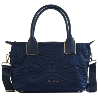 TED BAKER テッドベーカー QUILTED BOW SMALL NYLON TOTE 14325
