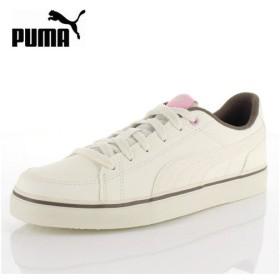 PUMA プーマ レディース コートポイント VULC V2 BG 362947-16 Puma Whisper White-Fossil スニーカー カジュアル ホワイト ブラウン