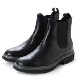 エコー ECCO Mens Crepetray Low Boot (BLACK)