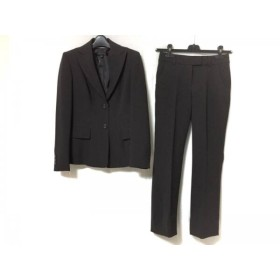 【中古】 アンクライン ANNE KLEIN レディースパンツスーツ サイズ0 XS レディース ダークグレー