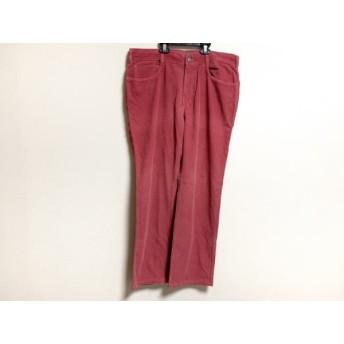 【中古】 インコテックス INCOTEX パンツ サイズ52 メンズ ピンク