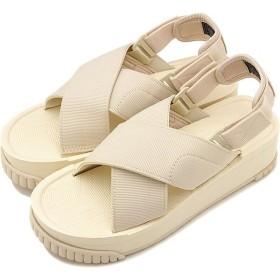 SHAKA シャカ サンダル レディース フィエスタ プラットフォーム FIESTA PLATFORM 厚底 クロスストラップ アウトドア 靴 NATURAL ホワイト系 SK433109 SS19