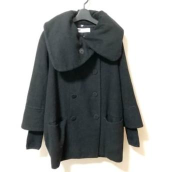 【中古】 スライ SLY ダウンコート サイズ2 M レディース 美品 黒 冬物