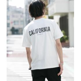 【50%OFF】 アーバンリサーチサニーレーベル ポケット付LAプリントフェードTシャツ メンズ オフ M 【URBAN RESEARCH Sonny Label】 【セール開催中】