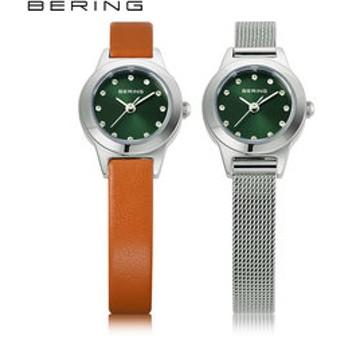 【THE WATCH SHOP.:時計】ベーリング [BERING] カーフレザー&メッシュ チェンジ [Calf Leather & Mesh Changes] 11119-509 北欧 交換ベルト付 日本限定 レディース