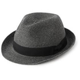 【メンズビギ:帽子】中折れハット ブレードMIX