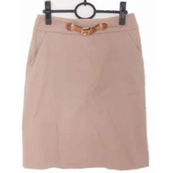 【中古】 ポールカ PAULEKA スカート サイズ38 M レディース ブラウン