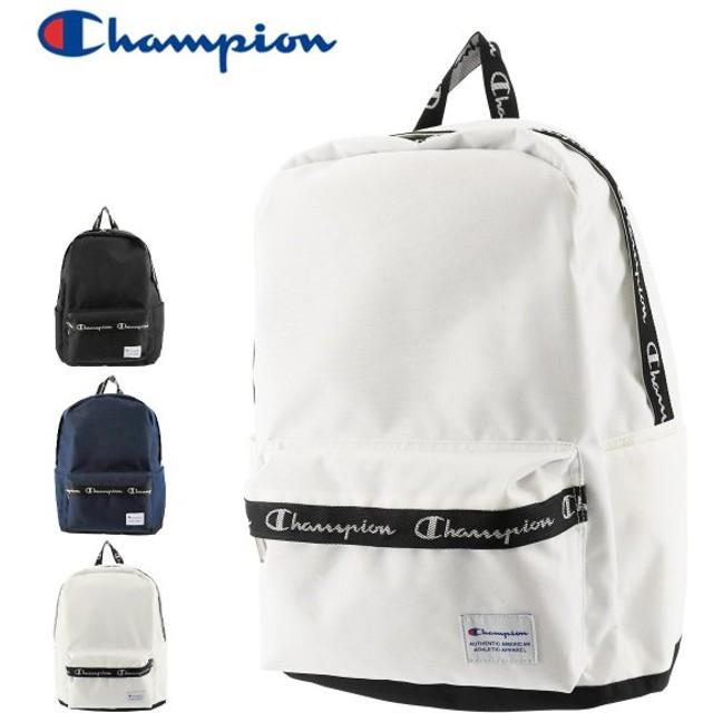 チャンピオン リュック 20L ヒッコリー メンズ レディース cha-55893 champion | リュックサック デイパック B4 通学 スクールバッグ 部活 [PO10]
