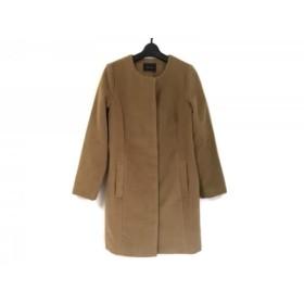 【中古】 ラウンジドレス Loungedress コート レディース ライトブラウン 冬物