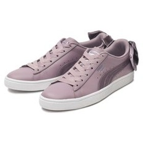 【ABC-MART:シューズ】369647 W BASKET BOW SATIN 01E.BERRY/WH 588588-0001