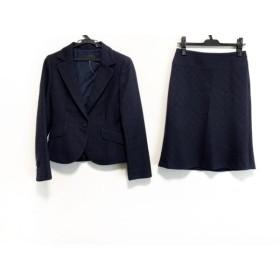 【中古】 アイシービー ICB スカートスーツ レディース ダークネイビー 肩パッド/ラメ