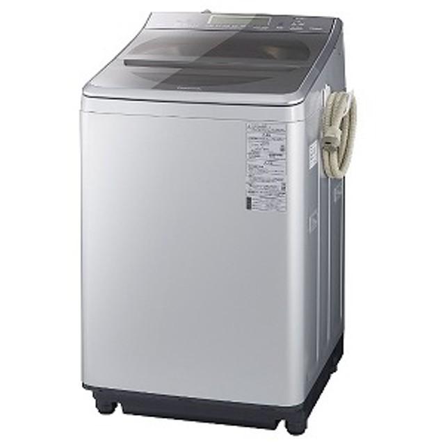 パナソニック Panasonic 全自動洗濯機 [洗濯12.0kg/インバーターモーター搭載/BIGサークル投入口] NA-FA120V2-S シルバー