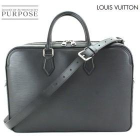 新同 ルイ ヴィトン LOUIS VUITTON エピ ダンディ ブリーフ ケース MM ビジネス バッグ ノワール M54404