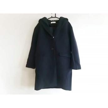 【中古】 スライ SLY コート サイズ2 M レディース 美品 ネイビー 冬物