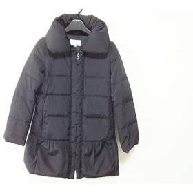 【中古】 エムプルミエブラック M-premierBLACK ダウンコート サイズ32P レディース 黒 冬物
