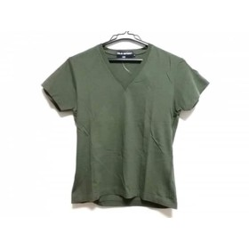 【中古】 ポロスポーツラルフローレン PoloSportRalphLauren 半袖Tシャツ メンズ カーキ Vネック