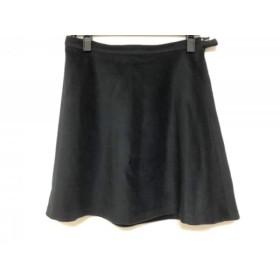 【中古】 アニエスベー agnes b スカート レディース 黒