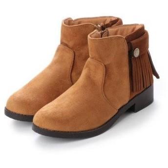 トゥインクトゥインク twinktwink ブーツ (キャメルスエード)