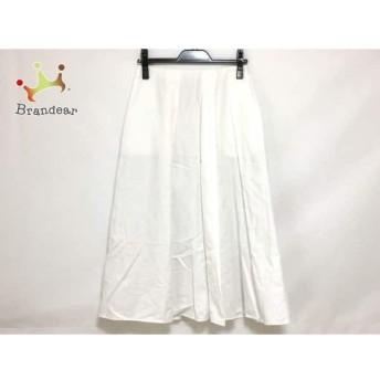 ミラオーウェン Mila Owen ロングスカート サイズ0 XS レディース 美品 白 スペシャル特価 20190802