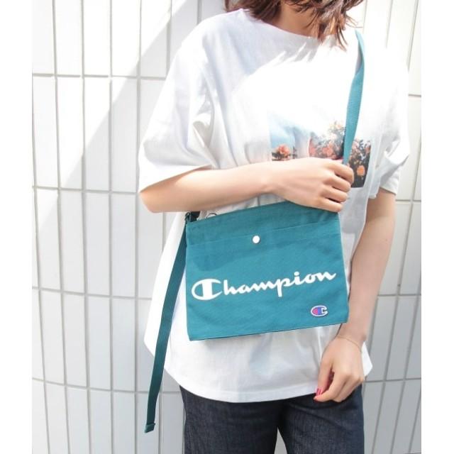 ロペピクニックパサージュ/【チャンピオン】ハンプサコッシュ/グリーン系/F