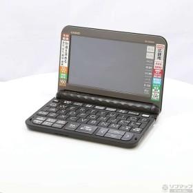 〔中古〕カシオ 〔展示品〕 エクスワード EX-word XD-Z6500BK ブラック