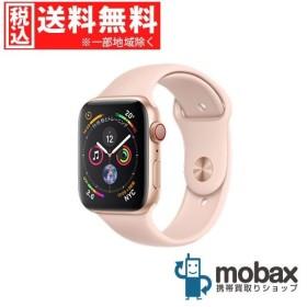キャンペーン◆【新品未開封品(未使用)】Apple Watch Series 4 44mm GPS + Cellularモデル MTVW2J/A ゴールドアルミニウムピンクサンドスポーツバンド