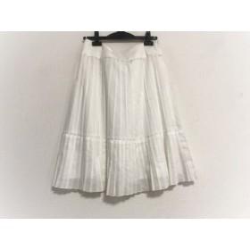 【中古】 ニジュウサンク 23区 スカート サイズ40 M レディース 白