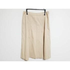 【中古】 スキャパ Scapa スカート サイズ38 L レディース ベージュ