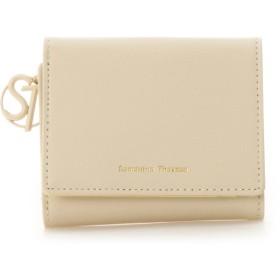 サマンサタバサ STモチーフ 折財布(パステルカラー) ベージュ