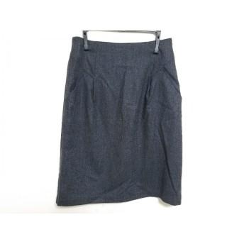 【中古】 セオリーリュクス theory luxe スカート サイズ38 M レディース 美品 ダークグレー