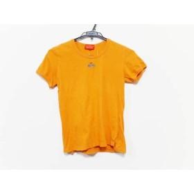 【中古】 ヴィヴィアンウエストウッドレッドレーベル 半袖Tシャツ サイズS レディース オレンジ