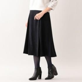 SALE【トランスワーク(TRANS WORK)】 ★★マスカレードスウェードスカート ネイビー