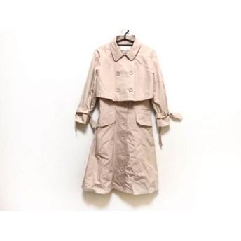 【中古】 フラジール FRAGILE コート サイズ38 M レディース ピンク 冬物