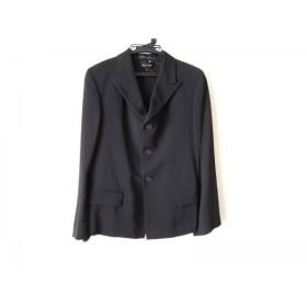 【中古】 コムデギャルソン COMMEdesGARCONS ジャケット サイズS レディース 黒 変形デザイン