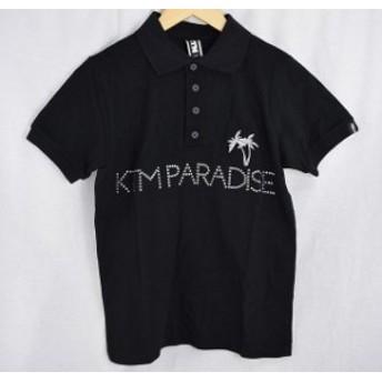 【中古品】ケツメイシ 2013年ツアー ライブポロシャツ サイズS ブラック KTM