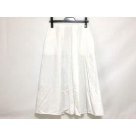 ミラオーウェン Mila Owen ロングスカート サイズ0 XS レディース 美品 白【中古】